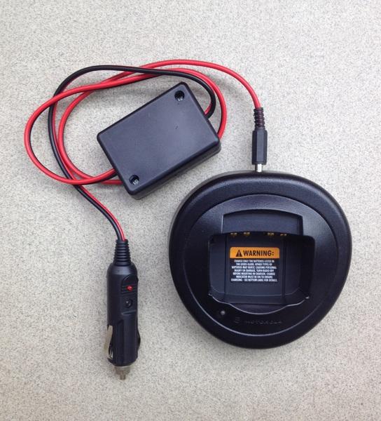 Автомобильное з/у для Motorola GP/CP серии