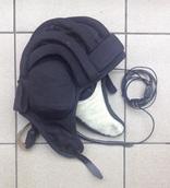 Установка гарнитуры в шлем