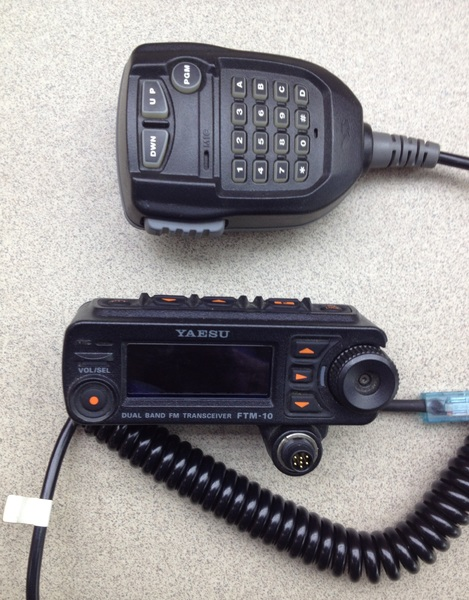 Съемная панель управления Yaesu FTM-10R