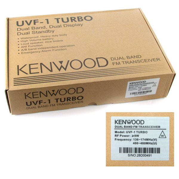 Kenwood TH-UVF1 turbo
