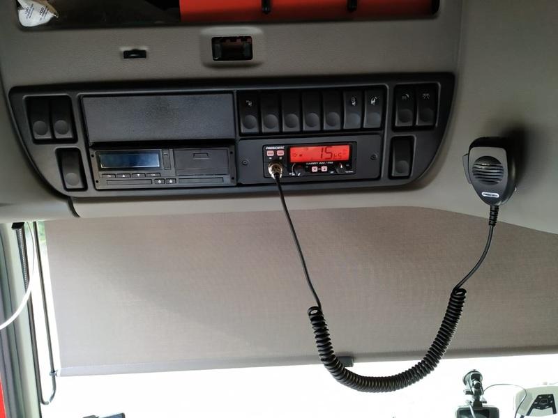 Установка радиостанции President Barry с рамкой